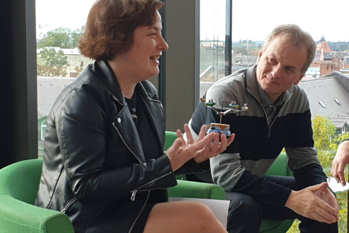 Dr. Karin Falkenberg, Horst Müller