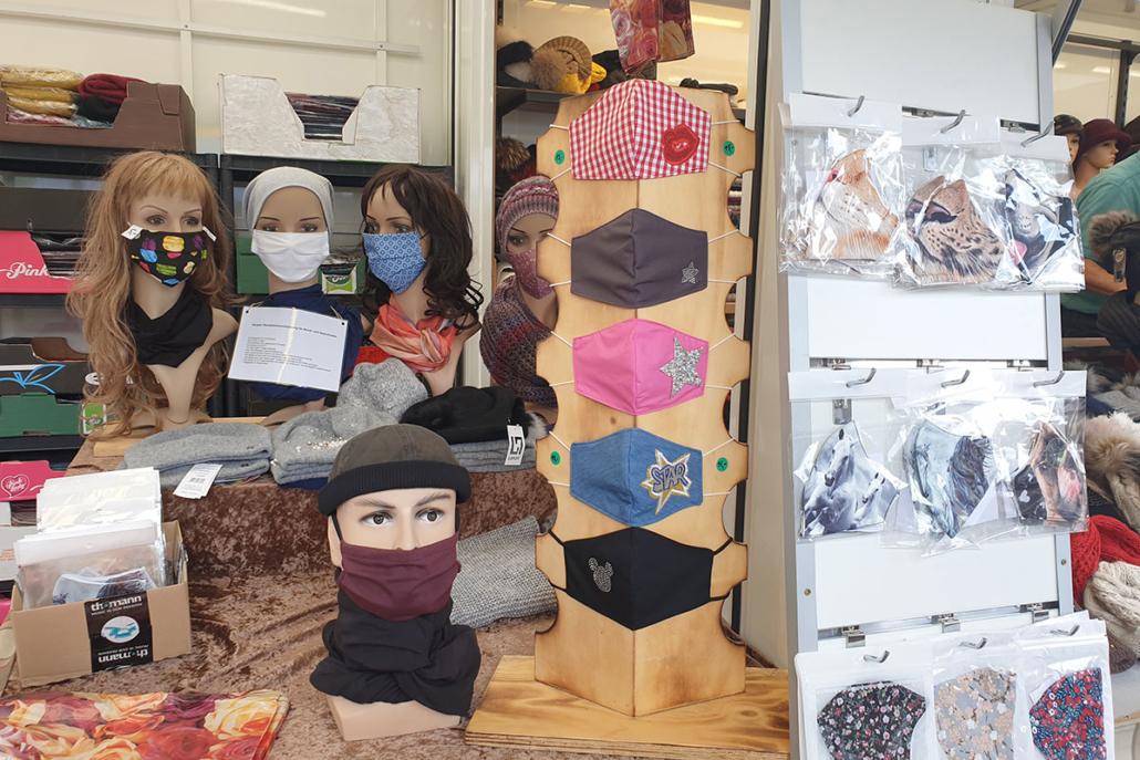 Textile Mund-Nase-Masken